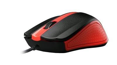 Drátové myši Myš C-TECH WM-01 červená MYSCT3222