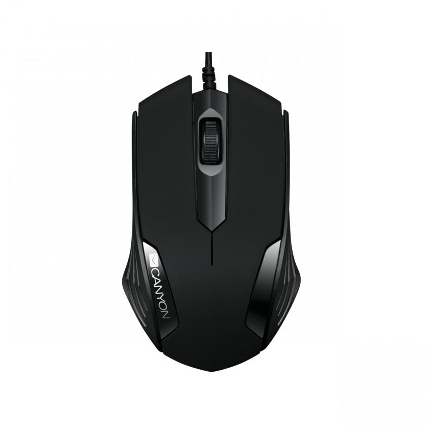 Drátové myši Myš Canyon CNE-CMS02B