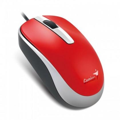 Drátové myši Myš Genius DX-120 červená