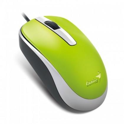 Drátové myši Myš Genius DX-120 zelená
