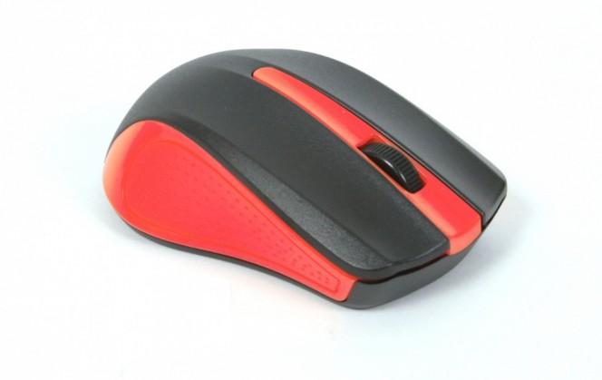 Drátové myši Omega OM-05, červená