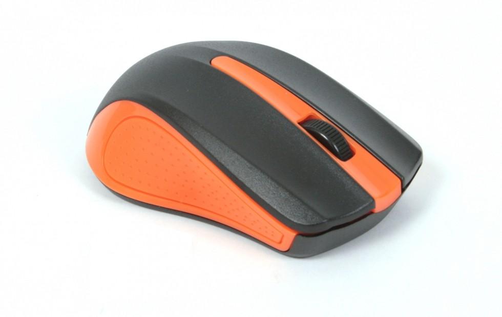 Drátové myši Omega OM-05, oranžová