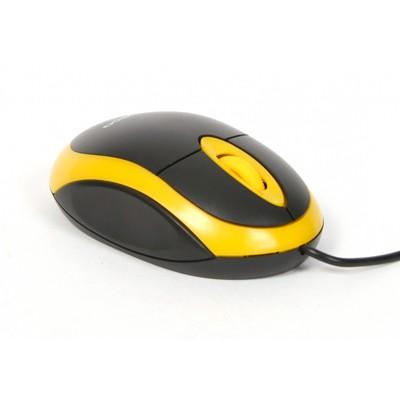 Drátové myši Omega OM-06, žlutá