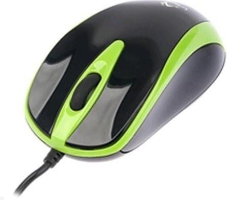 Drátové myši Tracer Scorpion TRM-153, černá-zelená