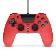 Drátový gamepad Gioteck VX-4, pro PS4, červený