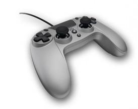 Drátový gamepad Gioteck VX-4, pro PS4, titanový