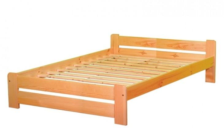 Dřevěná Anetka 160x200