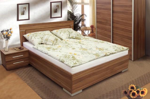 Dřevěná Dafne 2 180x200 cm (švestka)