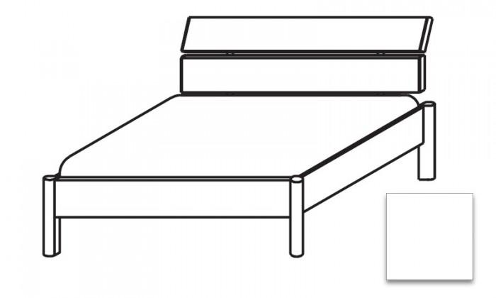 Dřevěná Elementa - postel 180x200, bez roštu, bez matrace