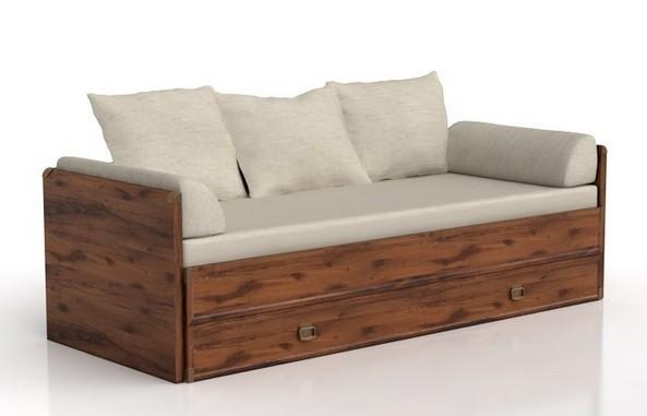 Dřevěná Indiana JLOZ 80/160 (Dub sutter)