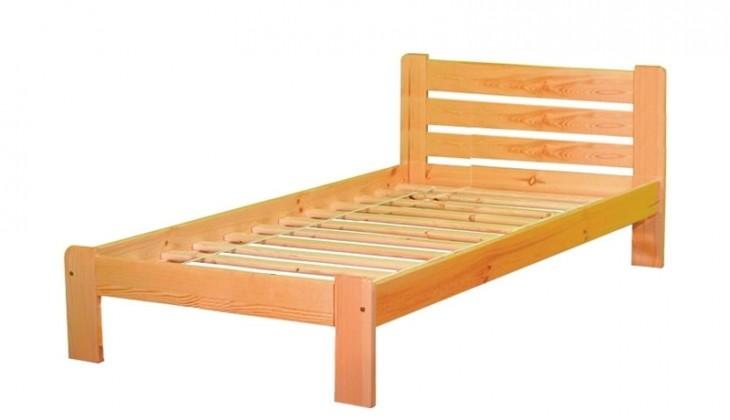 Dřevěná Nina (90x200 cm)