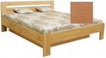 Dřevěná postel Kars 2, 180x200, olše, vč.roštu a úp, bez matrace