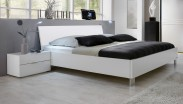 Dřevěná postel Medina 160x200 cm, bílá