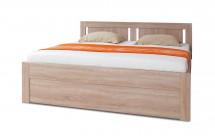 Dřevěná postel Mia 180x200 cm, s úložným prostorem