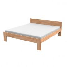 Dřevěná postel Monika, vč. roštu, bez matrace
