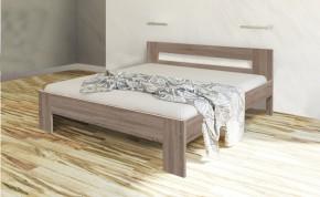 Dřevěná postel Nikola II 160x200 cm, dub