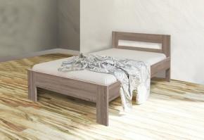 Dřevěná postel Nikola II 90x200 cm, dub