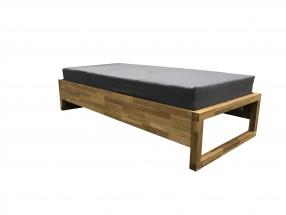 Dřevěná postel Oriosa 90x200 cm, dub