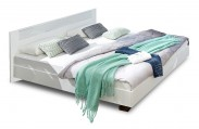 Dřevěná postel Pamela 180x200 cm, bílá