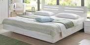 Dřevěná postel Susan 180x200 cm, bílá