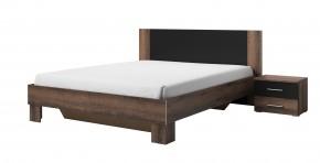 Dřevěná postel Vera 180x200 cm, dub