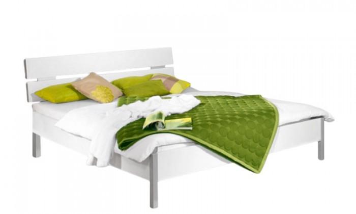 Dřevěná Quadra - postel 160x200 cm, bez roštu, bez matrace