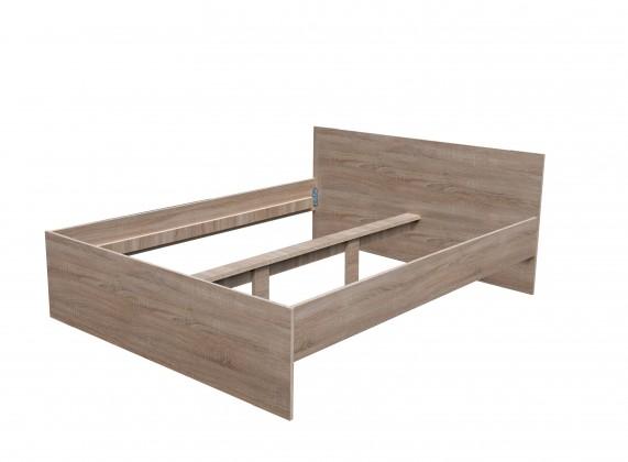 Dřevěné postele Dřevěná postel Nikola I, 160x200, bez roštu a matrace