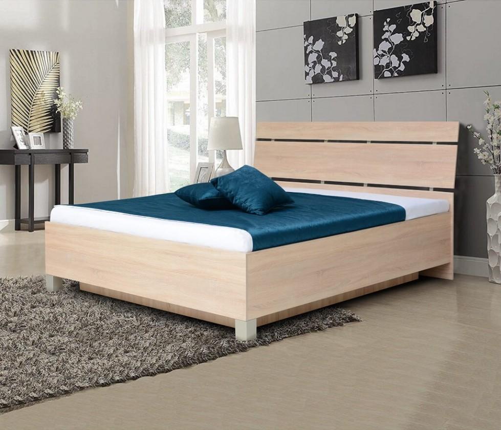 Dřevěné postele Dřevěná postel Zara 180x200, bardolino, ÚP
