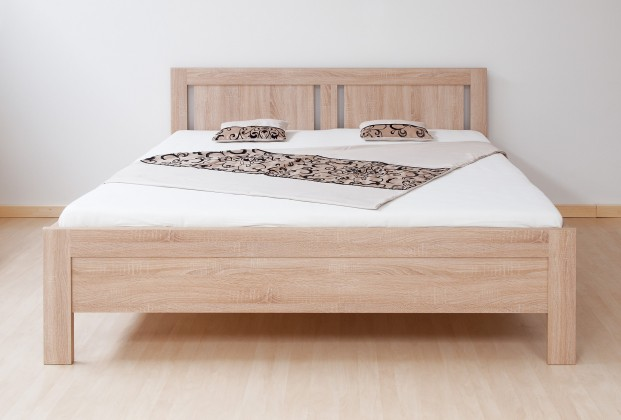 Dřevěné postele Postel Lucy 180x200, vč. roštu, bez matrace