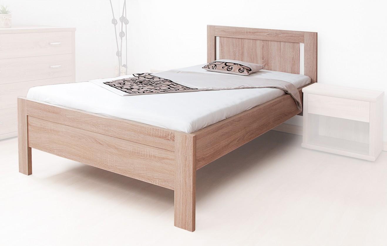 Dřevěné postele Postel Lucy 90x200, vč. roštu, bez matrace