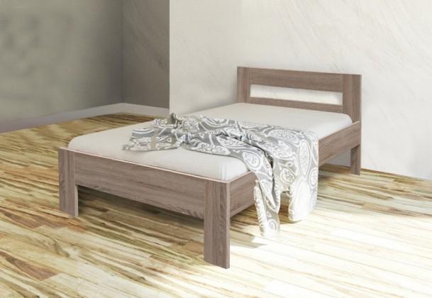 Dřevěné postele Rám postele Nikola II, 90x200, dub