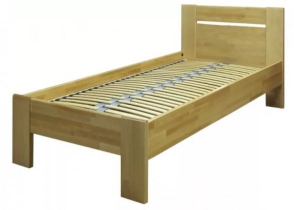 Dřevěné postele Rám postele Tina 1, 90x200, buk masiv