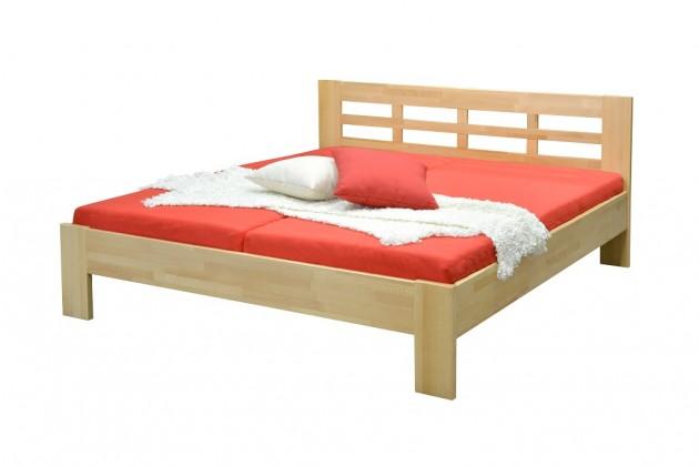Dřevěné postele Rám postele Vegas - 180x200 cm (olej)