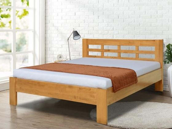 Dřevěné postele Rám postele Vegas 180x200, ořech světlý