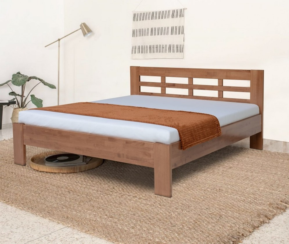 Dřevěné postele Rám postele Vegas 180x200, švestka