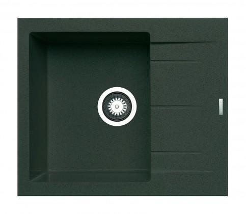 Dřez Alazia - Granitový 59x50, šedá
