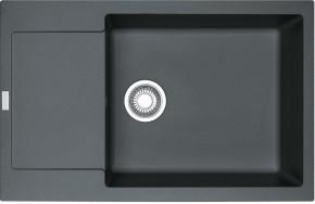 Dřez Franke - Fragranit MRG 611-78 BB, 780x500 (grafit)