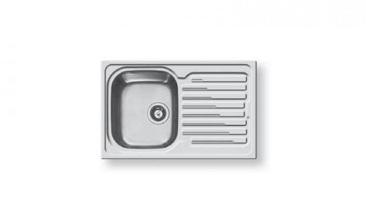 Dřez rovný Amaltia 1B 1D - výtok.otvor 92 (790x500)