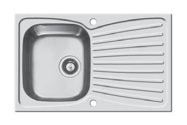 Dřez rovný Ariadne 1B 1D(790x500)