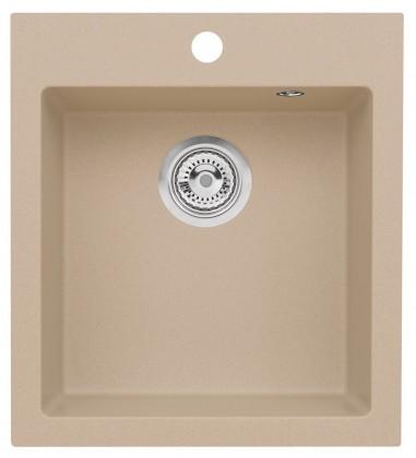 Dřez rovný Dřez DKL 04, granit, 45x50cm