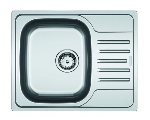 Dřez rovný Dřez Franke - nerez PXN 611-60 3 1/2, 615x490 mm (stříbrná)