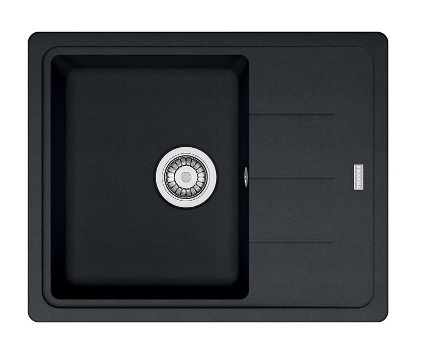 Dřez rovný Franke - dřez Fragranit BFG 611-62, 620x500 (onyx)