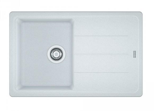 Dřez rovný Franke - dřez Fragranit BFG 611-78, 780x500 (bílá-led)