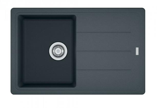 Dřez rovný Franke - dřez Fragranit BFG 611-78, 780x500 (grafit)