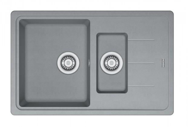 Dřez rovný Franke - dřez Fragranit BFG 651-78, 780x480 (šedý kámen)