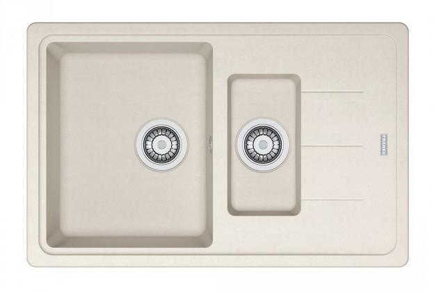 Dřez rovný Franke - dřez Fragranit BFG 651-78, 780x480 (vanilka)