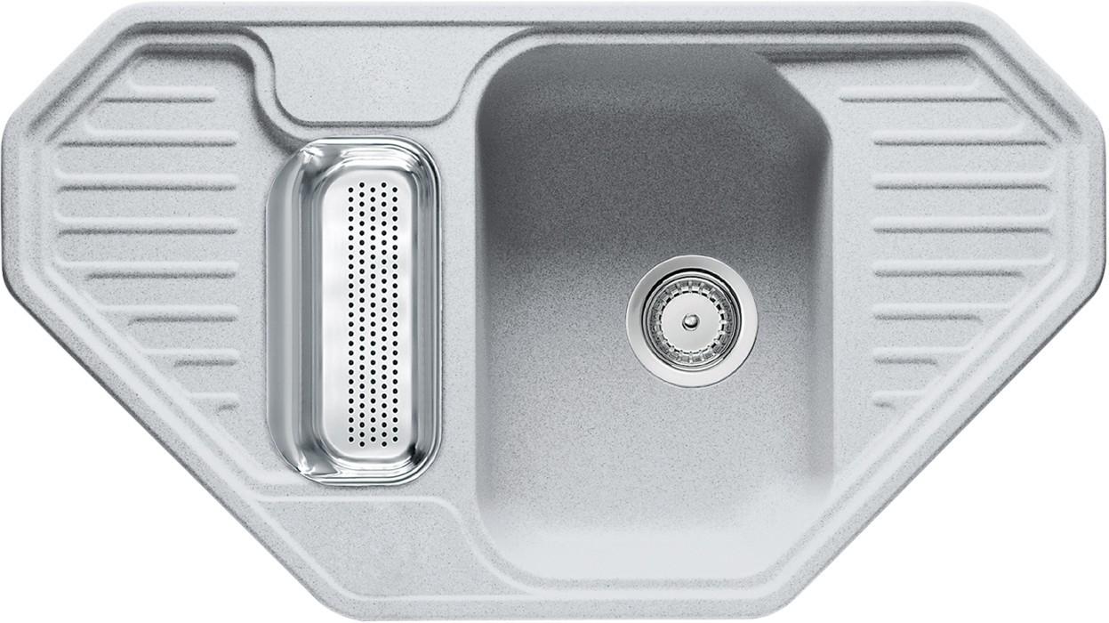 Dřez rovný Franke - dřez Fragranit EFG 682 E, 905x505 (stříbrná)