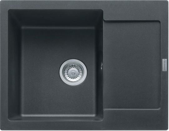 Dřez rovný Franke - dřez Fragranit MRG 611-62, 620x500 (grafit)