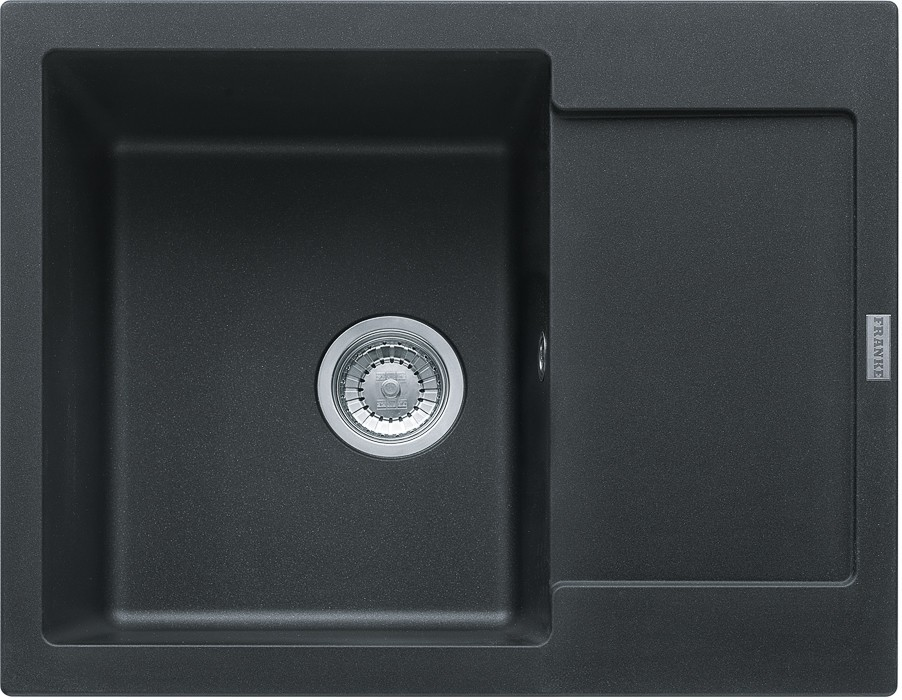 Dřez rovný Franke - dřez Fragranit MRG 611-62, 620x500 (onyx)
