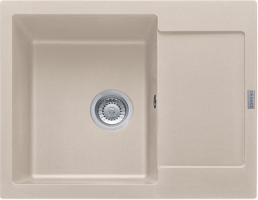 Dřez rovný Franke - dřez Fragranit MRG 611-62, 620x500 (sahara)